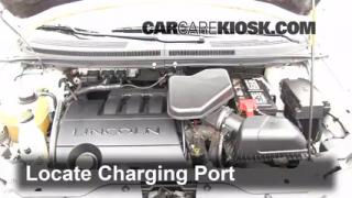 2007 Lincoln MKX 3.5L V6 Air Conditioner Recharge Freon