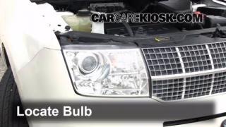 2007 Lincoln MKX 3.5L V6 Lights Highbeam (replace bulb)