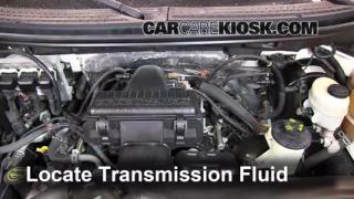 2007 Lincoln Mark LT 5.4L V8 Fluid Leaks Transmission Fluid (fix leaks)