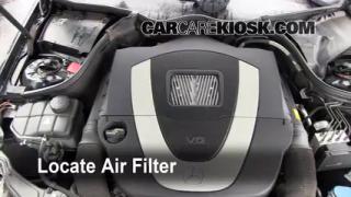 2001-2007 Mercedes-Benz C230 Cabin Air Filter Check