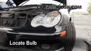 Highbeam (Brights) Change: 2001-2007 Mercedes-Benz C230
