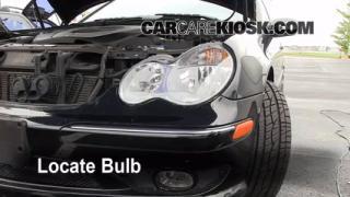 Front Turn Signal Change Mercedes-Benz C230 (2001-2007)