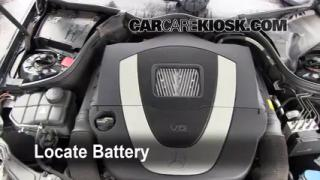 2001 2007 mercedes benz c230 engine air filter check for Mercedes benz c230 battery replacement