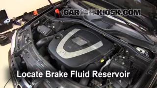 Add Brake Fluid: 2006-2011 Mercedes-Benz ML350