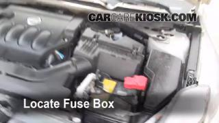 Blown Fuse Check 2007-2013 Nissan Altima