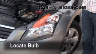 Parking Light Change 2007-2013 Nissan Altima