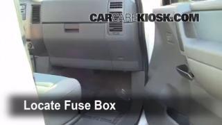 2007 Nissan Titan SE 5.6L V8 Crew Cab Pickup Fuse (Interior) Check