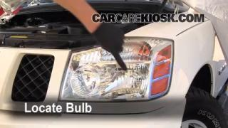 2007 Nissan Titan SE 5.6L V8 Crew Cab Pickup Lights Headlight (replace bulb)
