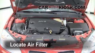 Air Filter How-To: 2005-2010 Pontiac G6