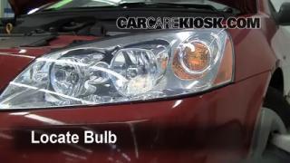 Highbeam (Brights) Change: 2005-2010 Pontiac G6
