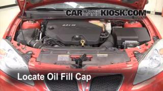 2007 Pontiac G6 3.5L V6 Oil Add Oil