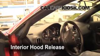 Open Hood How To 2005-2010 Pontiac G6