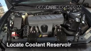 How to Add Coolant: Pontiac Grand Prix (2004-2008)