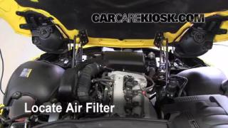 2007 Pontiac Solstice 2.4L 4 Cyl. Air Filter (Engine) Replace