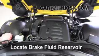 2006-2009 Pontiac Solstice Brake Fluid Level Check