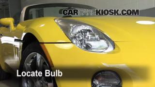 Headlight Change 2006-2009 Pontiac Solstice