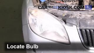 2007 Skoda Roomster HTP 1.2L 3 Cyl. Luces Luz de estacionamiento (reemplazar foco)