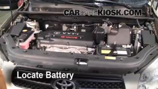 Battery Replacement: 2006-2012 Toyota RAV4