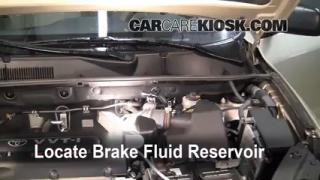 2007-2012 Hyundai Santa Fe Brake Fluid Level Check