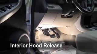 Open Hood How To 2006-2012 Toyota RAV4