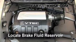 Add Brake Fluid: 2005-2008 Acura RL