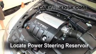 Fix Power Steering Leaks Acura RL (2005-2008)