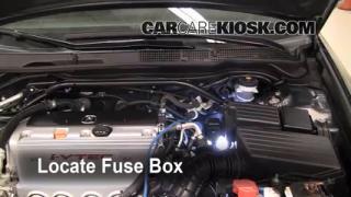 Blown Fuse Check 2004-2008 Acura TSX