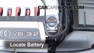 2008 Audi A3 Quattro 3.2L V6 Battery Replace