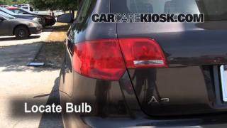 2008 Audi A3 Quattro 3.2L V6 Lights Turn Signal - Rear (replace bulb)