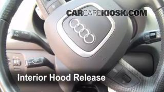 Open Hood How To 2006-2013 Audi A3