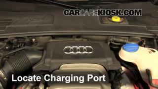 2008 Audi A6 3.2L V6 Air Conditioner Recharge Freon