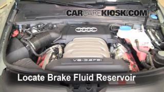 Add Brake Fluid: 2005-2011 Audi A6