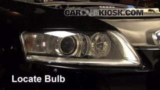 2008 Audi A6 3.2L V6 Lights Daytime Running Light (replace bulb)