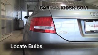 Tail Light Change 2005-2011 Audi A6