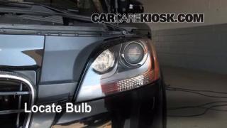 2008 Audi TT Quattro 3.2L V6 Coupe Lights Turn Signal - Front (replace bulb)