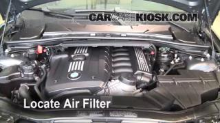 2006-2013 BMW 328xi Cabin Air Filter Check