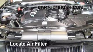 2008 BMW 328xi 3.0L 6 Cyl. Sedan (4 Door) Air Filter (Engine) Check