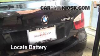 Battery Replacement: 2006-2013 BMW 328xi