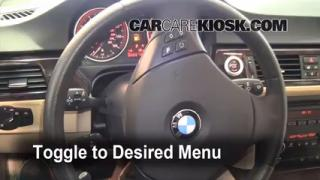 2008 BMW 328xi 3.0L 6 Cyl. Sedan (4 Door) Oil Check Oil Level