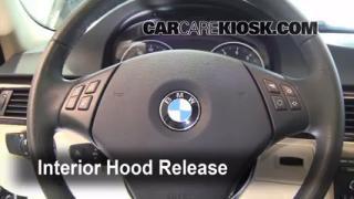 Open Hood How To 2006-2013 BMW 328xi