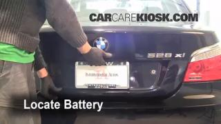 Battery Replacement: 2004-2010 BMW 528xi
