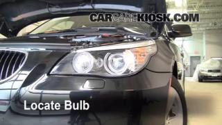 2008 BMW 528xi 3.0L 6 Cyl. Luces Luz de carretera (reemplazar foco)