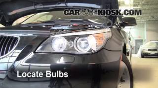 2008 BMW 528xi 3.0L 6 Cyl. Luces Luz de giro delantera (reemplazar foco)
