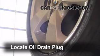 2008 BMW 528xi 3.0L 6 Cyl. Aceite Cambiar aceite y filtro de aceite