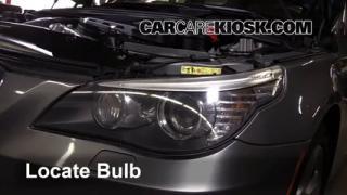 2008 BMW 535xi 3.0L 6 Cyl. Turbo Sedan Luces Faro delantero (reemplazar foco)