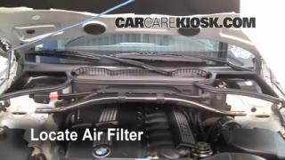2004-2010 BMW X3 Cabin Air Filter Check