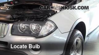 Parking Light Change 2004-2010 BMW X3