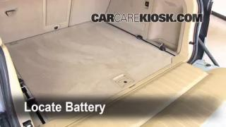 Battery Replacement: 2007-2013 BMW X5