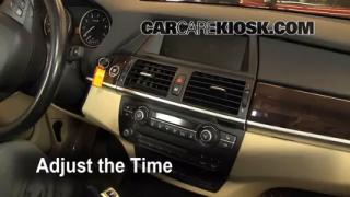 How to Set the Clock on a BMW X5 (2007-2013)