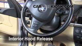 Open Hood How To 2007-2013 BMW X5